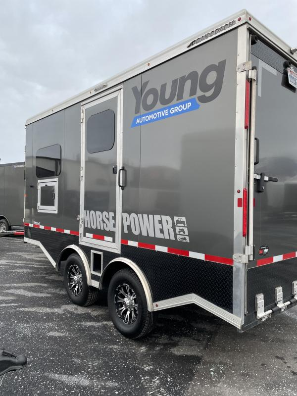 2020 Logan Coach Enclosed Snowmobile Trailer