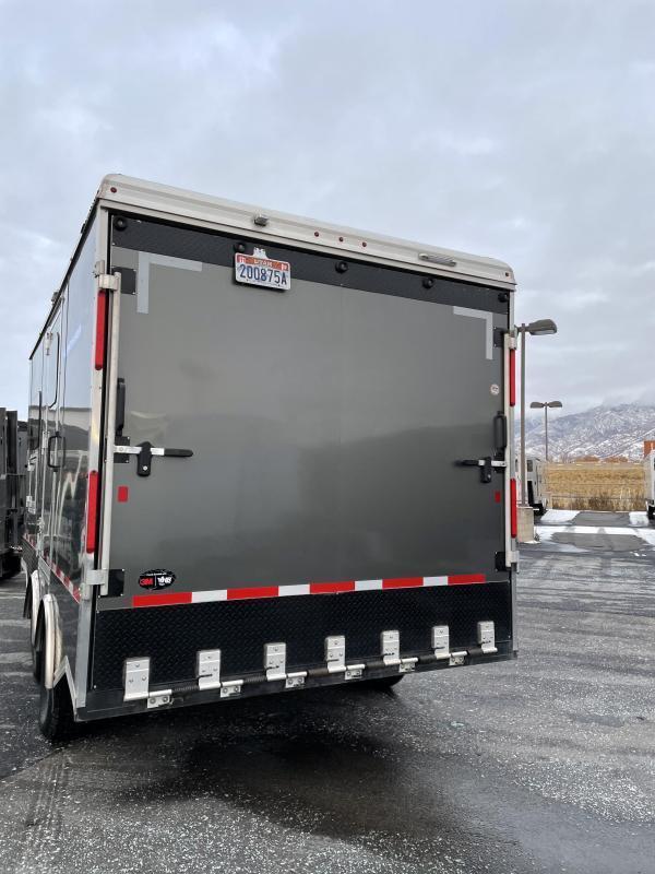 2020 Logan Coach 21' Enclosed Snowmobile Trailer