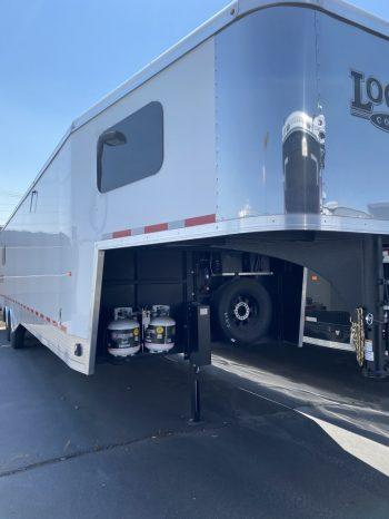 2020 Logan Coach 33' Multi-Use Toy Hauler Snowmobile Trailer