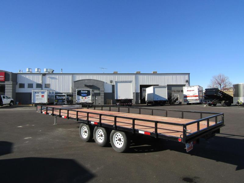 2019 Big Bubba Used Flatbed Trailer
