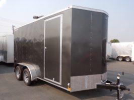 2021 Wells Cargo 14' Deluxe Enclosed Trailer Enclosed Cargo Trailer