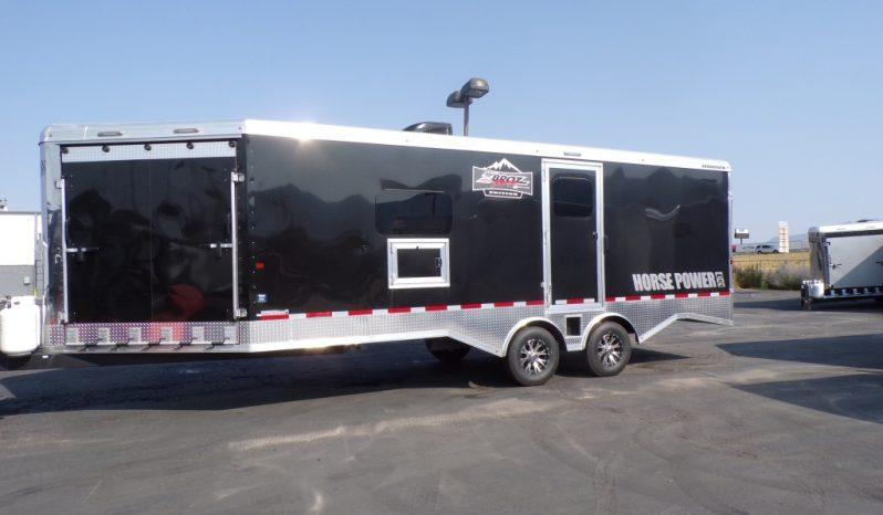2020 Logan Coach 29' Zbroz Enclosed Trailer Snowmobile Trailer