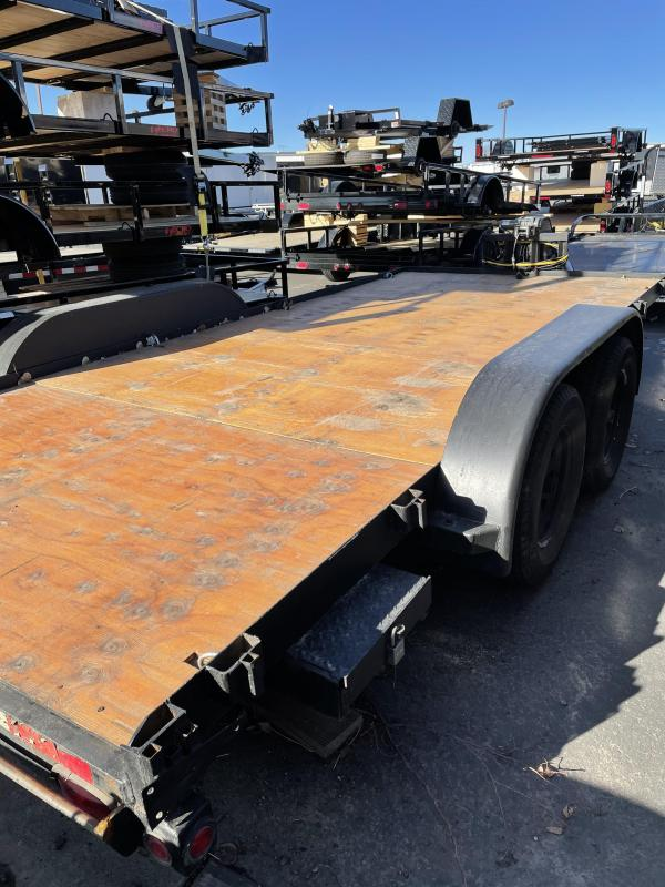 2013 Big Tex Trailers USED Flatbed Trailer