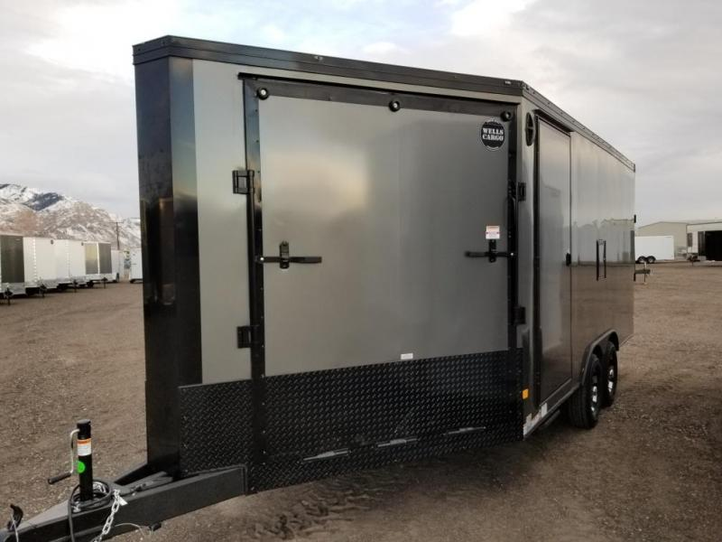 2021 Wells Cargo 22' Snowmobile Trailer