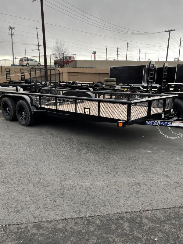 2021 Load Trail 18' Flatbed ATV Trailer