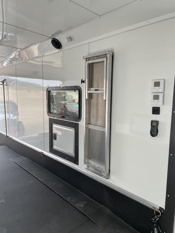 2021 Logan Coach Enclosed Snowmobile Trailer