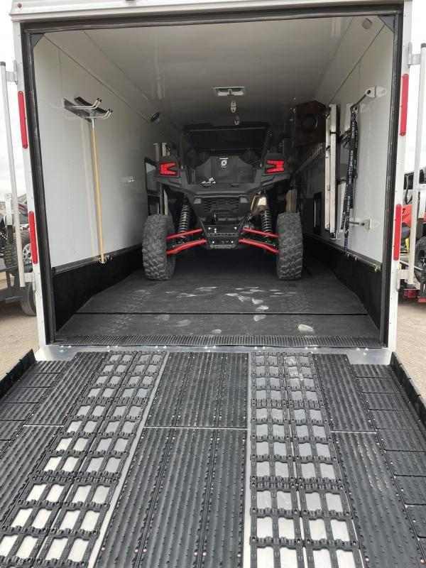 2021 Logan Coach Enclosed Snowmobile Trailer