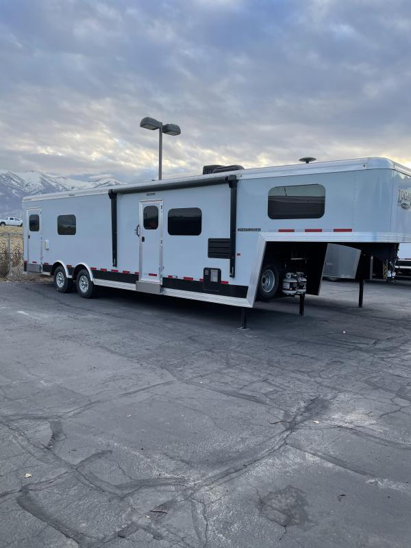 2020 Logan Coach 28' Enclosed Snowmobile Trailer On Special