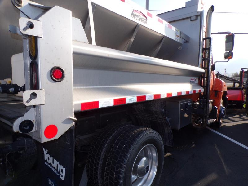 2017 Hino 258 Snow Plow Truck ON SPECIAL