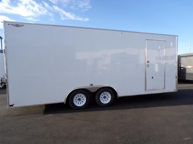 2021 H & H 20' Enclosed Trailer