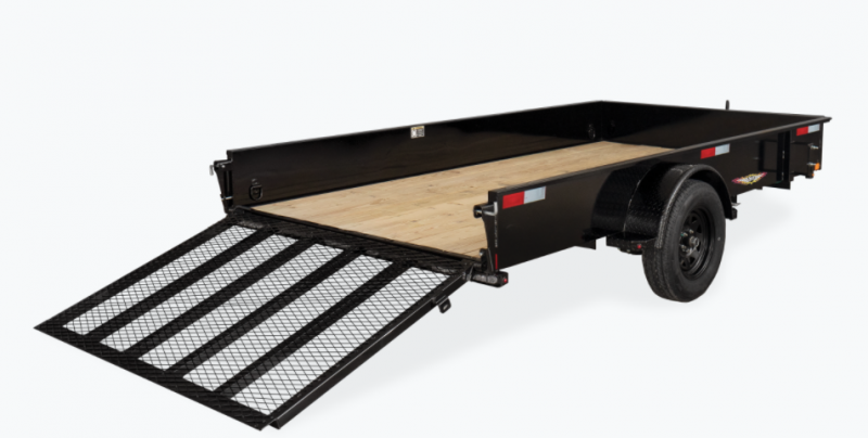 2021 H and H Trailer 10' Utility Trailer