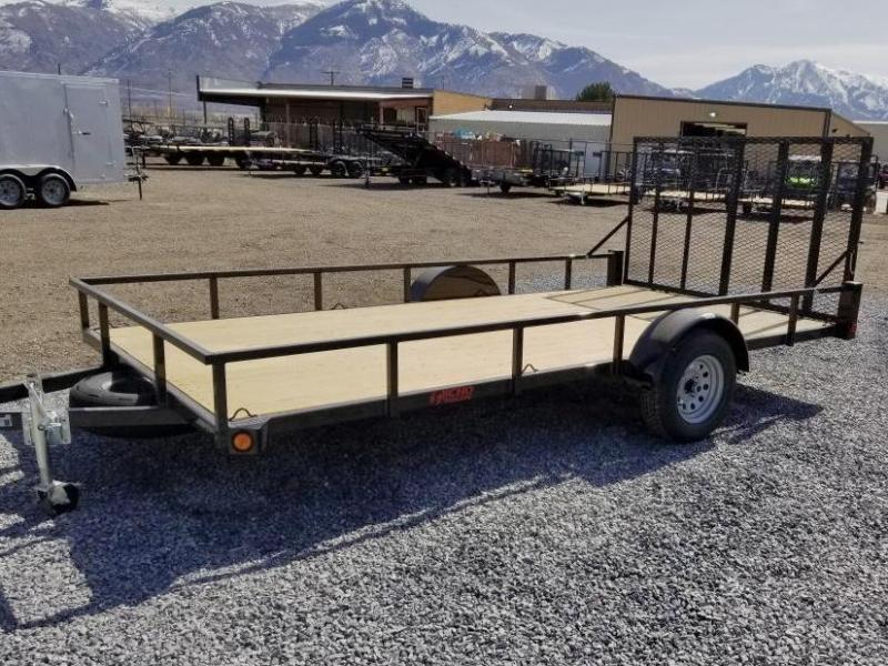 2021 Echo 14' ATV Flatbed Trailer