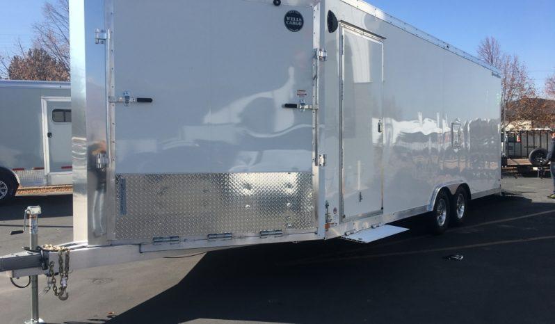 2020 Wells Cargo 28' Sports Track Mid-Deck Snowmobile Trailer