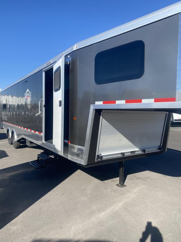 2021 Logan Coach Gooseneck Enclosed Snowmobile Trailer