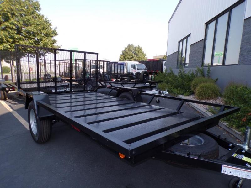 2021 Echo Flatbed ATV/UTV Trailer Flatbed Trailer