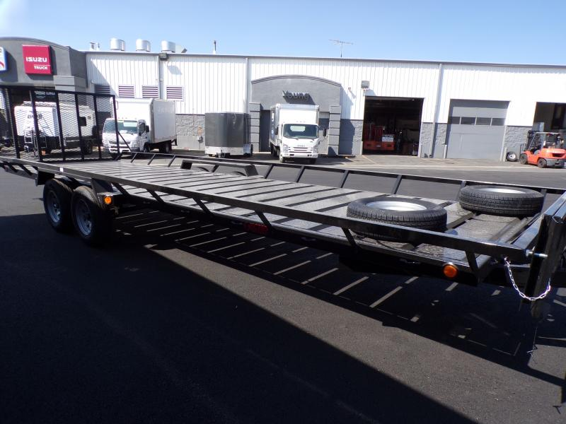 2021 Echo 24' Flatbed Trailer
