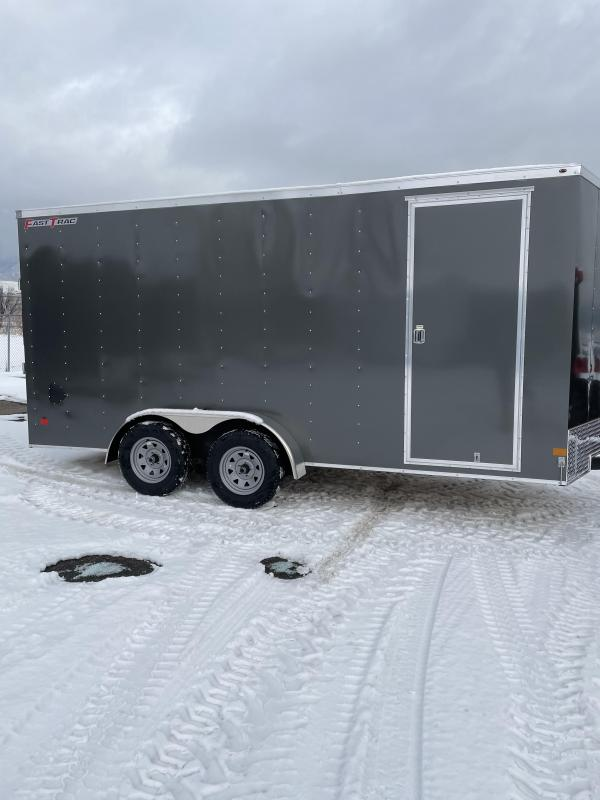 2021 Wells Cargo 16' Deluxe Enclosed Trailer