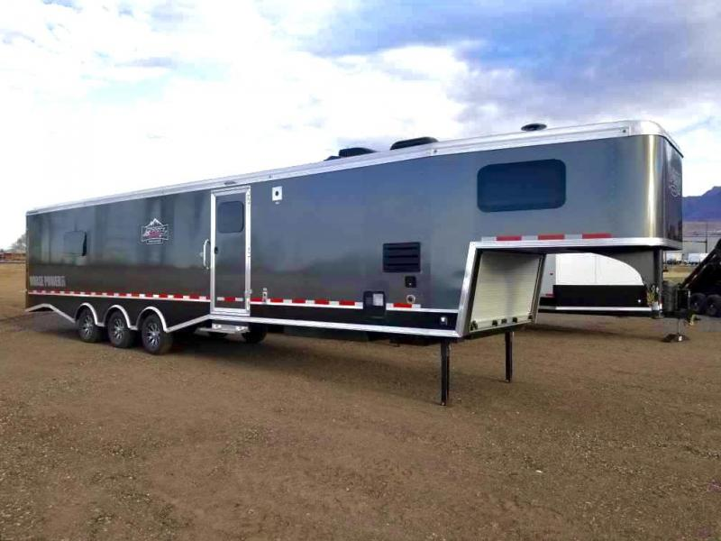 2021 Logan Coach 37' Multi-Sport Trailer