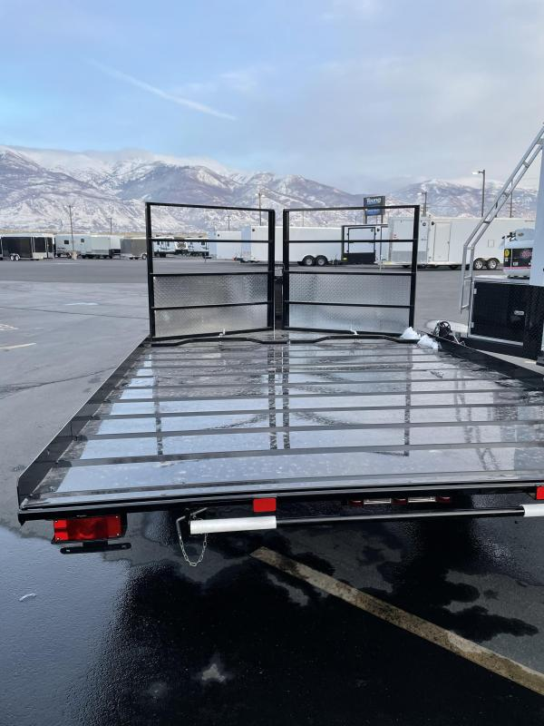 2021 Echo 11' Snowmobile Trailer ON SPECIAL!