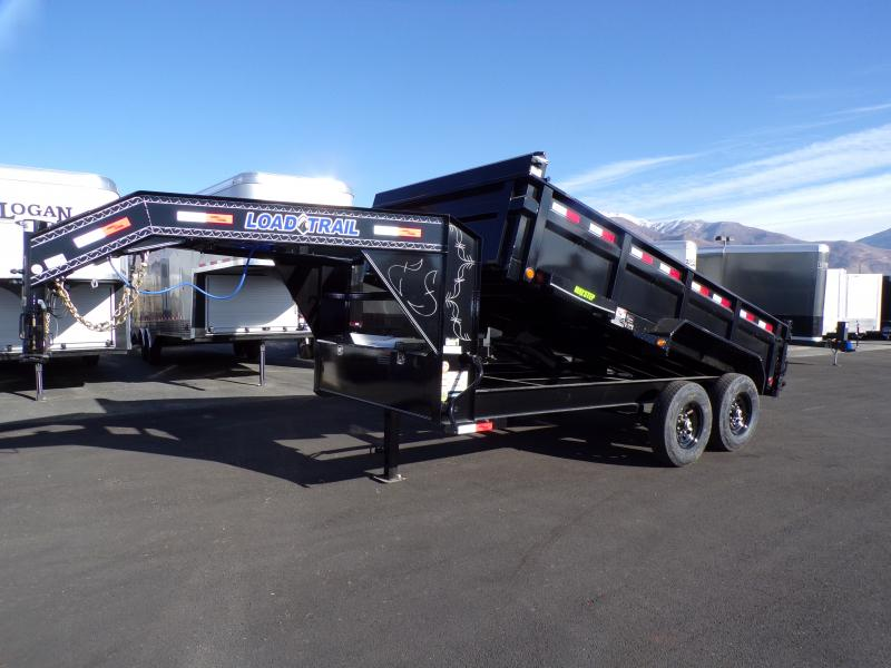 2021 Load Trail 14' Gooseneck Dump Trailer