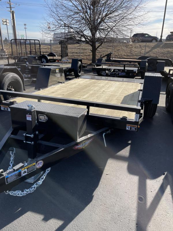 2021 H and H Flatbed Trailer