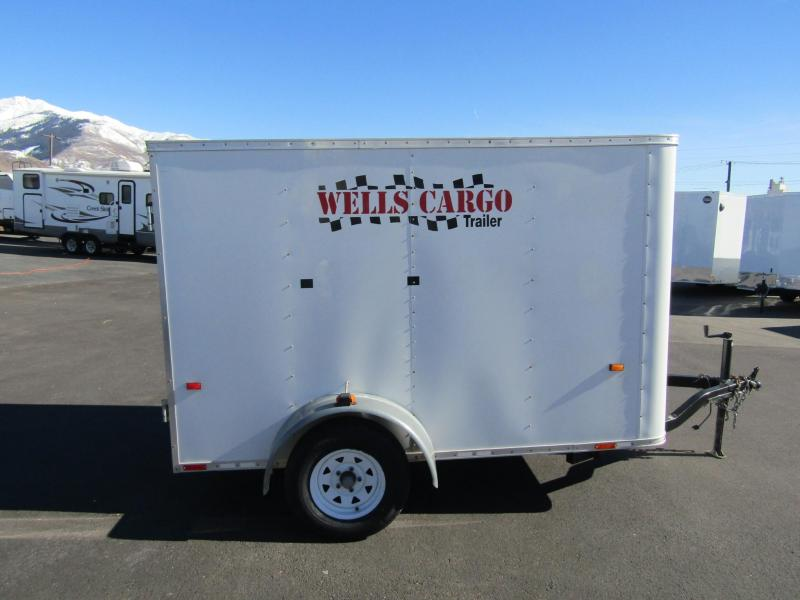 2007 Wells Cargo 10' Enclosed Trailer