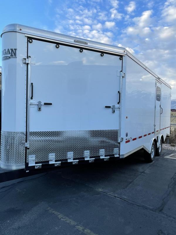 2021 Logan Coach Snowmobile Trailer