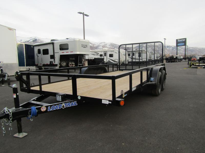 2021 Load Trail 16' Flatbed ATV Trailer