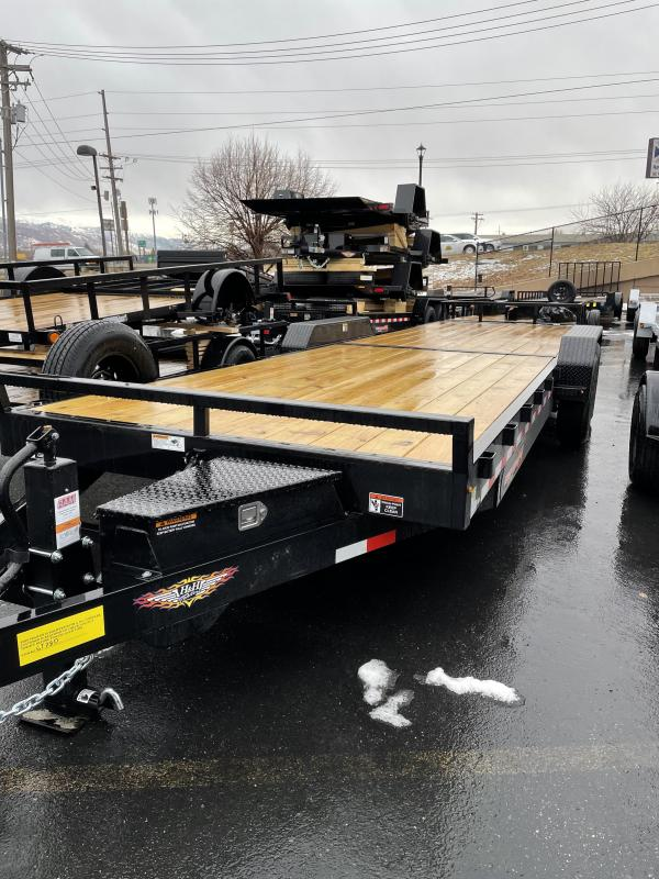 2021 H and H 26' Flatbed Trailer