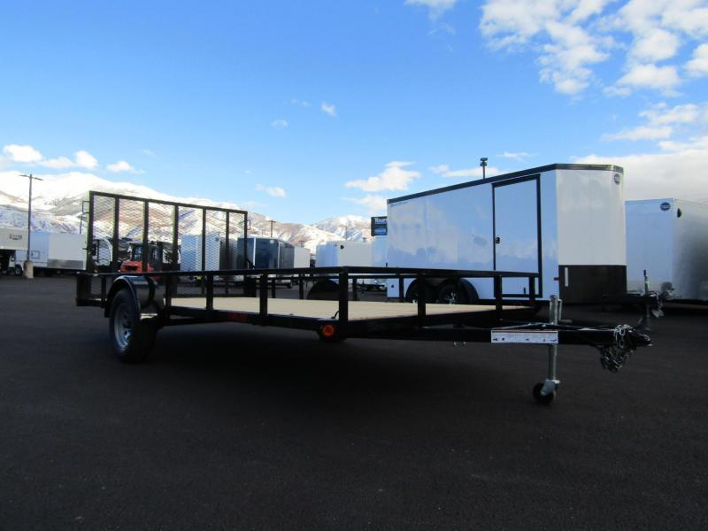 2021 Echo Trailers 14' Flatbed ATV Trailer