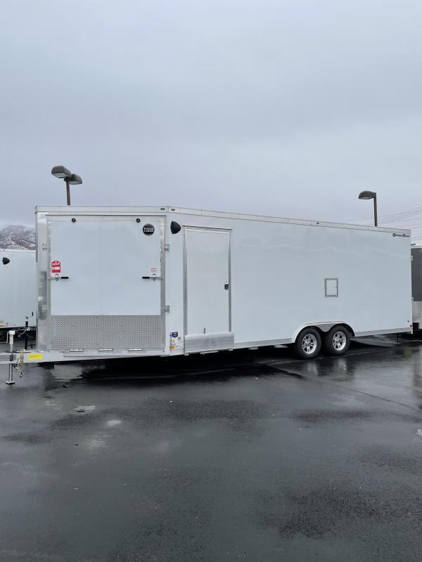 2020 Wells Cargo 28' Snowmobile Trailer