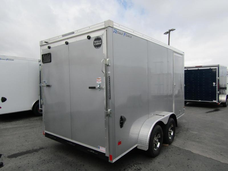 2021 Wells Cargo 14' Enclosed Cargo Trailer