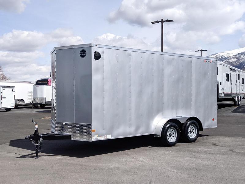 2021 Wells Cargo 16' Deluxe Enclosed  Trailer