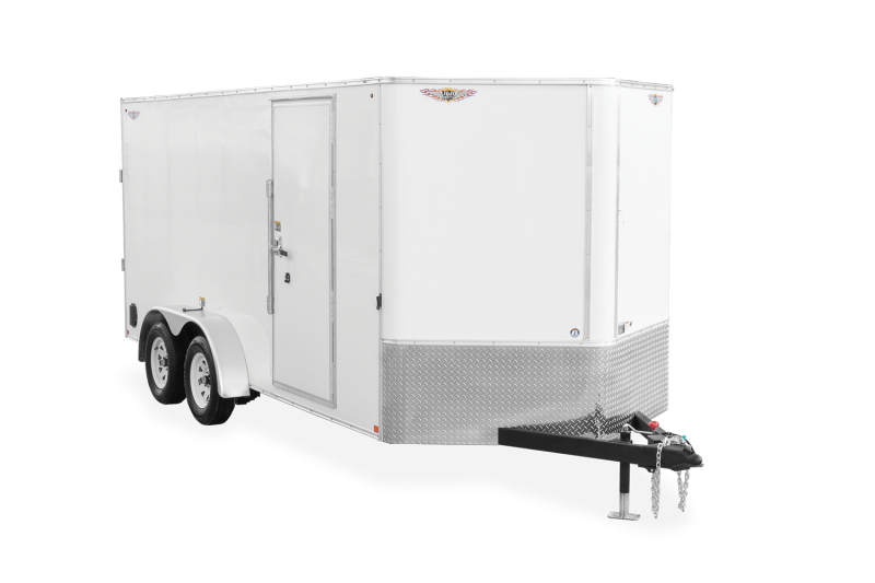 2021 H and H 14' Enclosed Trailer