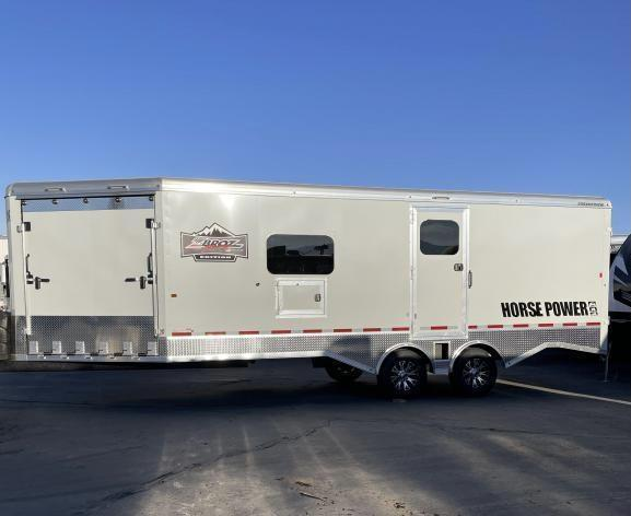 2021 Logan Coach 29' Multi-Sport Snowmobile Trailer