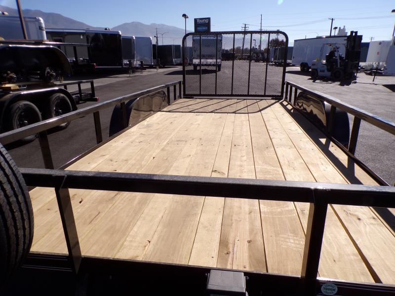 2021 Load Trail Flatbed Utility Trailer