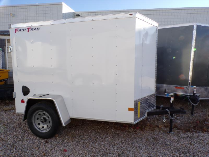 2021 Wells Cargo 8' Enclosed Trailer