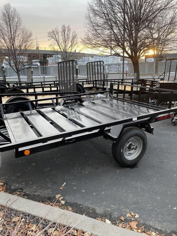 2021 Echo 9' Flatbed ATV Trailer