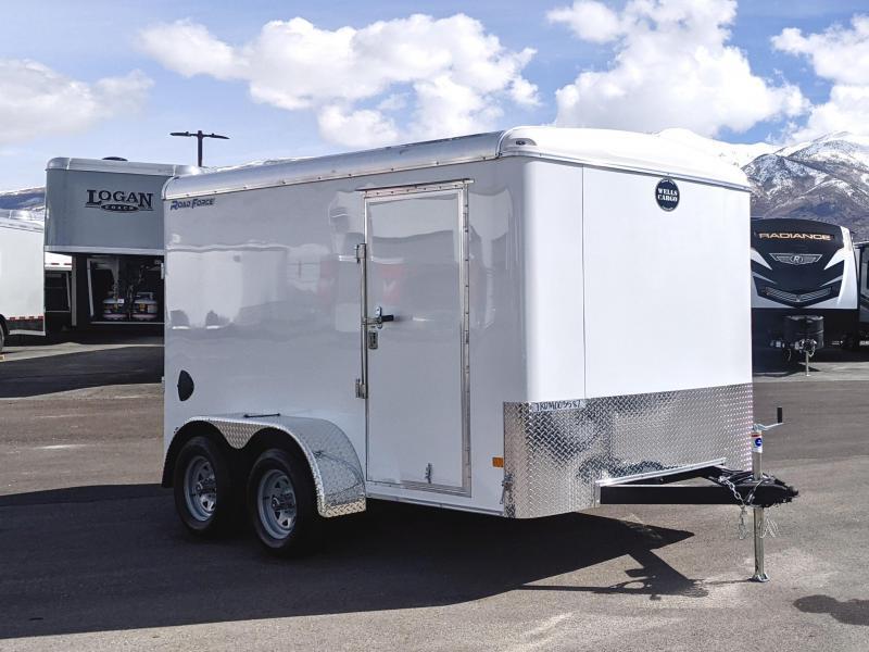 2021 Wells Cargo 12' Enclosed Cargo Trailer