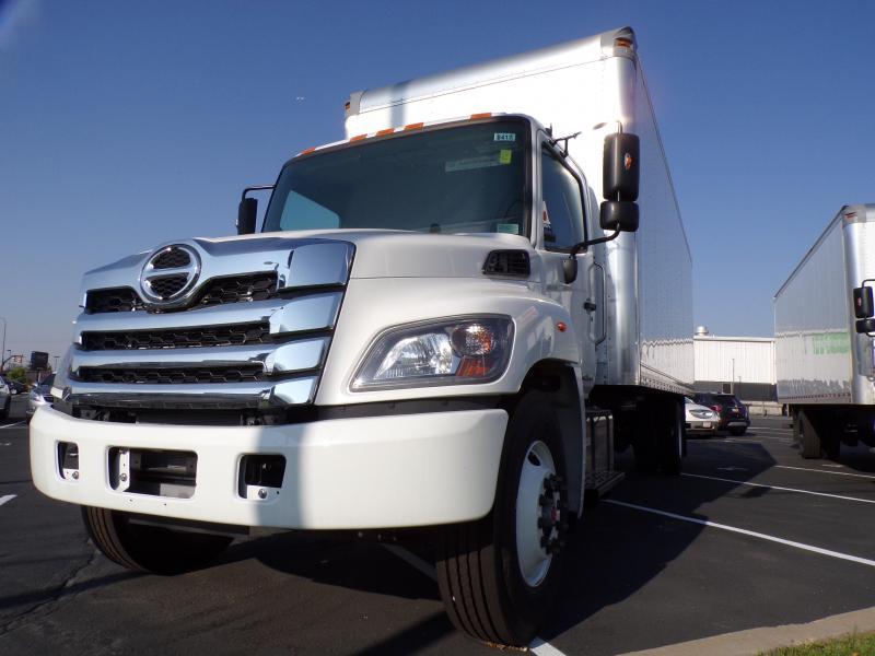 2021 Hino L6 Box Truck