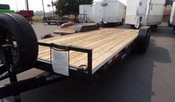 2020 Young 20' Dove Tail Flatbed Trailer