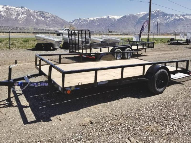2021 Load Trail 14'  Flatbed ATV Trailer