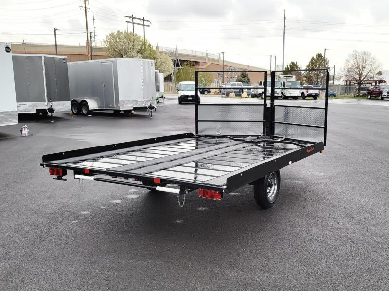 2021 Echo 11' Flatbed Snowmobile Trailer