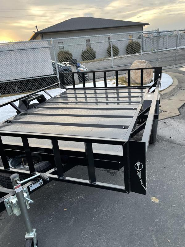 2021 Echo 9' Flatbed Trailer On Special
