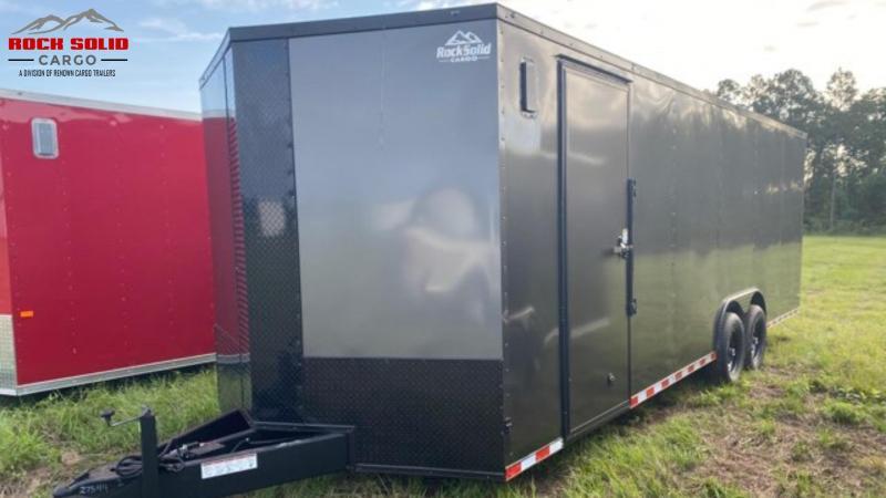 2021 Rock Solid Cargo 8.5 x 24 TA Enclosed Cargo Trailer