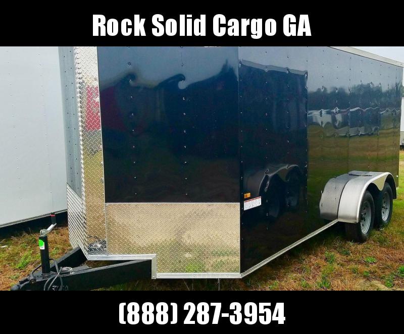 2021 Rock Solid 7X16 TA Enclosed Cargo Trailer