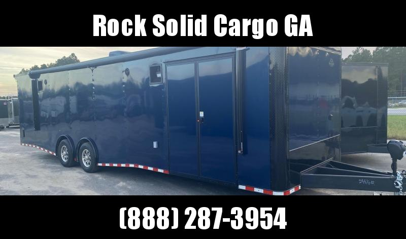 2021 Rock Solid Cargo 8.5 x32 TA Enclosed Cargo Trailer / race Car Trailer