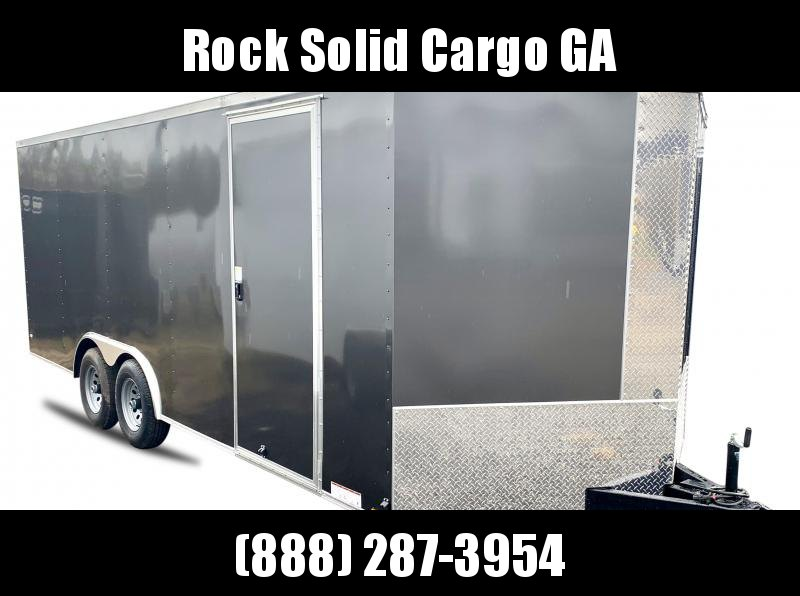 2021 Rock Solid Cargo 8.5 x 20 TA Enclosed Cargo Trailer
