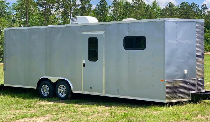 2021 Rock Solid  8.5X24 TA Enclosed Cargo Trailer / Car Hauler