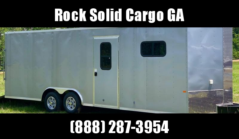2021 Rock Solid  8.5X24 TA Enclosed Cargo Trailer / Car Hauler